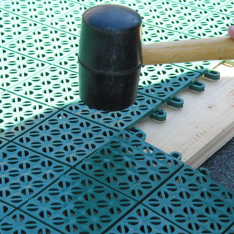 Pavimentazione colorata in plastica multiplate pontarolo engineering - Piastrelle di plastica ...
