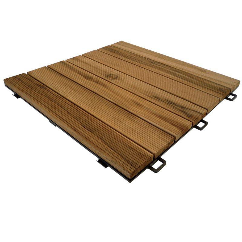 Pavimentazione in legno per esterni – Listoplate Teak  Pontarolo Engineering