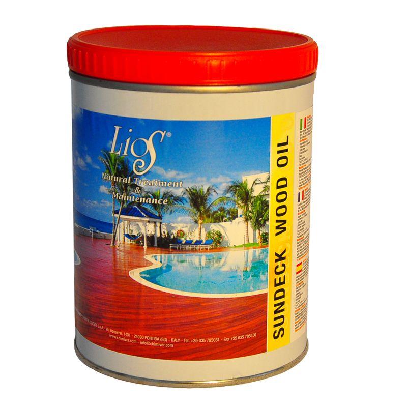 Lios sundeck wood oil miglior prezzo colori per for Impregnante per legno esterno prezzi