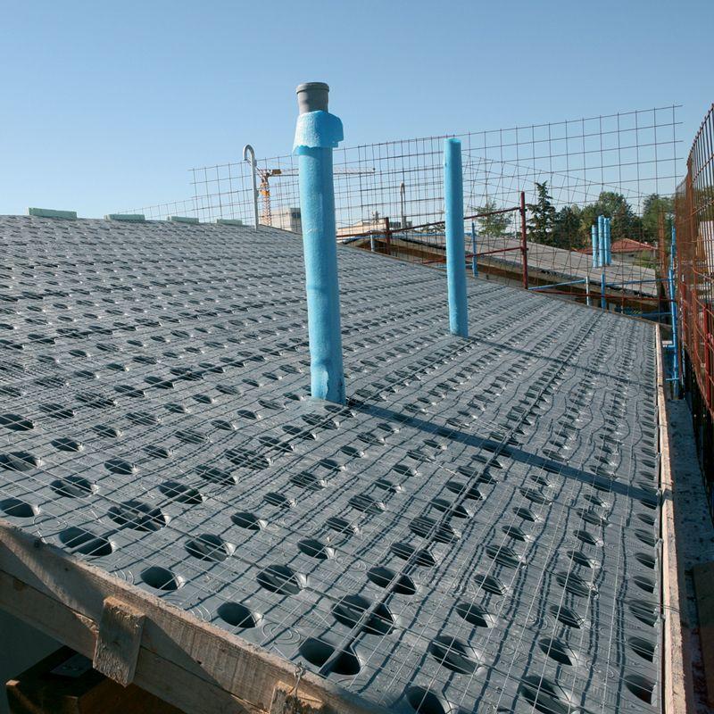 Prodotto per l impermeabilizzazione e la ventilazione - Cupolex windi ...