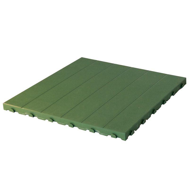 Pavimentazione colorata in plastica in bancale piastrella forata 60 x 60 pontarolo engineering - Piastrelle di plastica ...