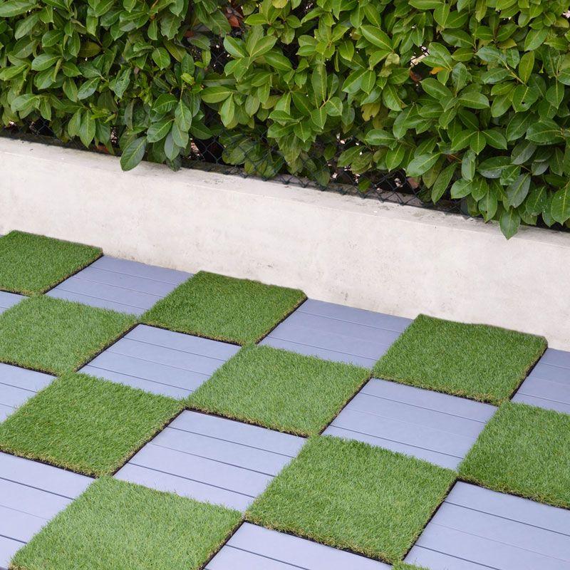 Pavimentazione in plastica per esterno finto legno - Pavimento flottante esterno ...