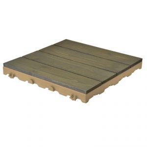 Woodstile pavimentazione in legno per esterno - pino nordico grigio