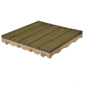 Woodstile pavimentazione in legno per esterno - robinia grigio