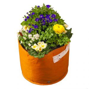 Vaso in tessuto colorato Bloem Bagz