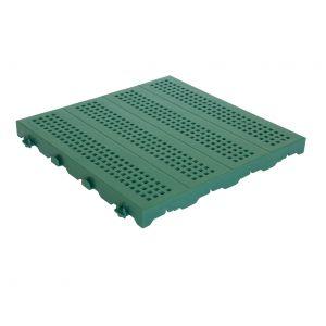 Piastrella 40x40 - Pavimentazione colorata forata in plastica