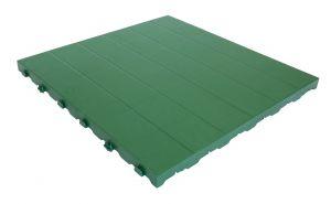 Piastrella 60x60 - Pavimentazione colorata in plastica piena
