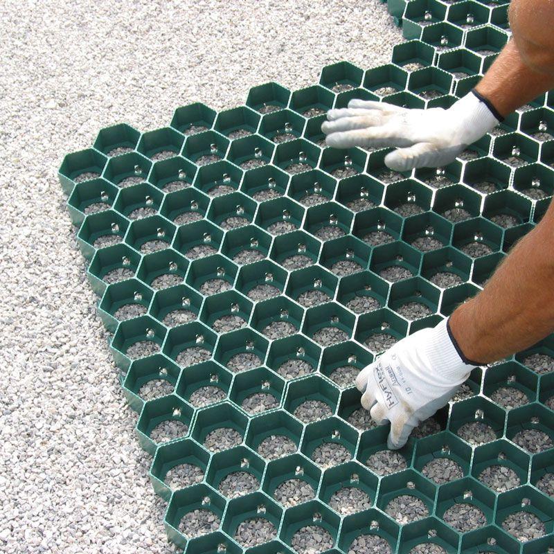 Piastre Da Giardino In Plastica.Grigliato Carrabile Per Prato In Bancale Pratex Pontarolo