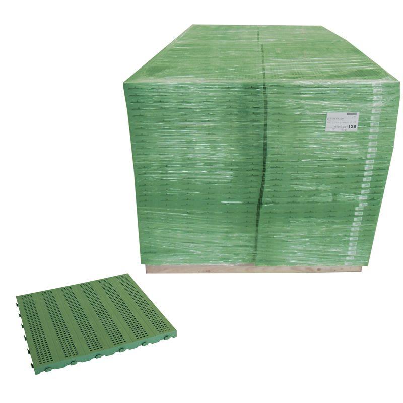 Pavimenti In Plastica Per Giardino Prezzi.Pavimentazione Colorata In Plastica In Bancale Piastrella Forata