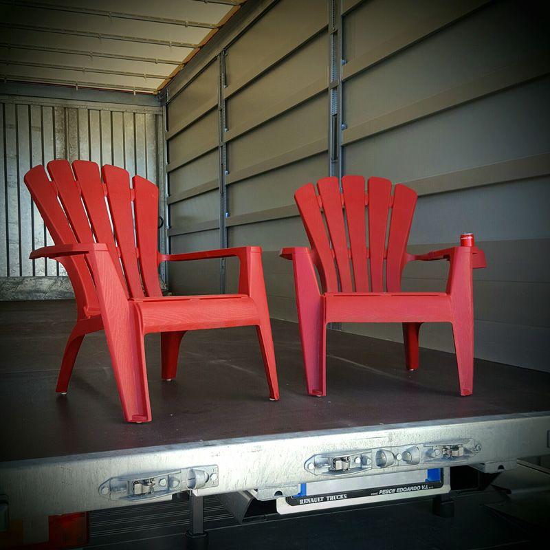 Sedie Americane Da Giardino.Sedia In Stile Americano King Adirondack Pontarolo Engineering