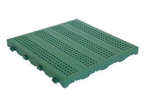 Piastrella 60x60 - Pavimentazione colorata forata in plastica